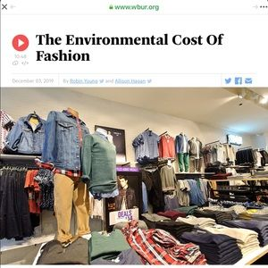 10.5M Tons of clothes sent to landfills